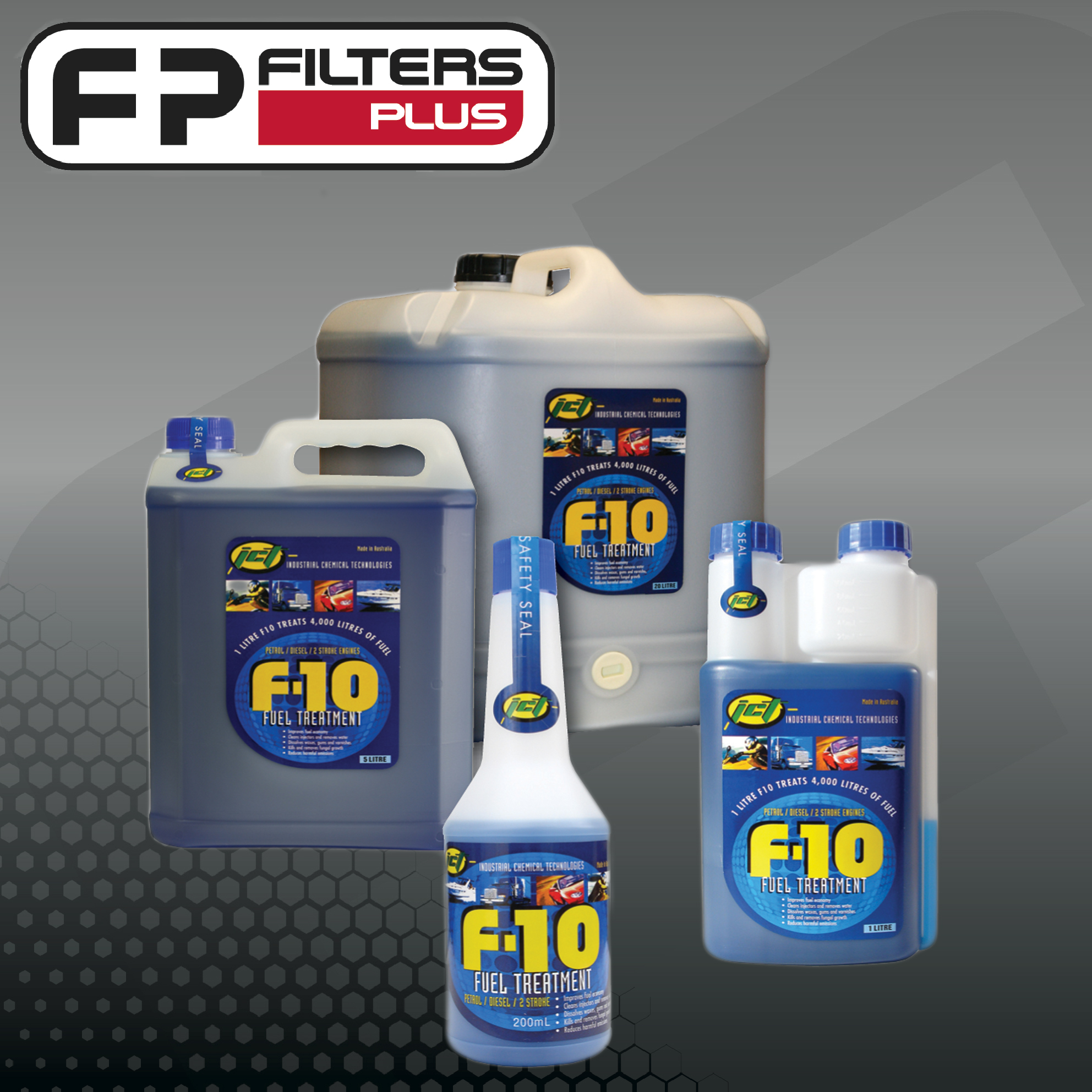 fuel treatment, hand cleaner, degreaser, coolant, truck wash, lubricant